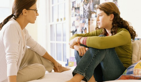 ouder praten kids depressie